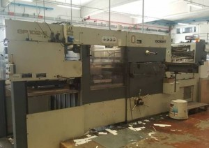 BOBST SP 102 1991